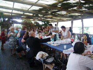 28/08/2010: gli amici di Nicola dopo la santa Messa