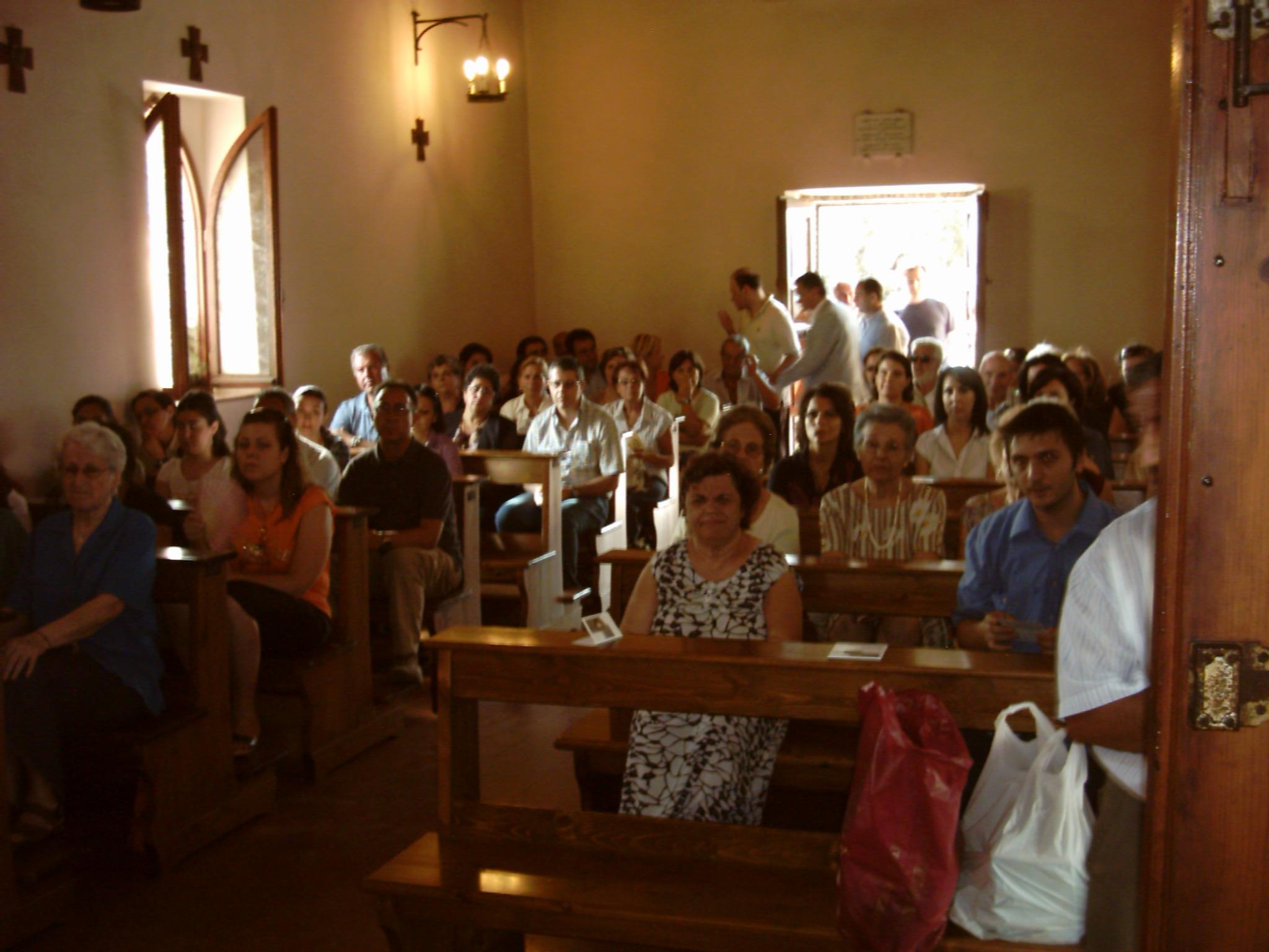 Amici di Nicola a Sabaudia IL 28/08/07 – Chiesa Della Sorresca
