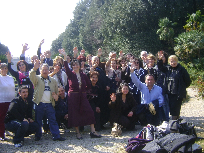 Amici di Nicola alla Reggia di Caserta 25/03/2012