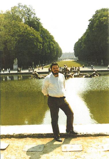 Nicola Reina alla Reggia di Caserta, anni '80